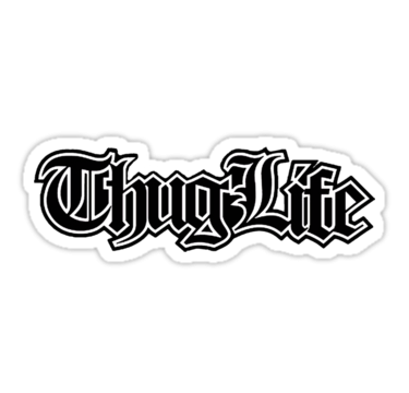 Thug Life Meme Transparent Picture PNG Images