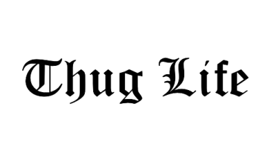 Download Thug Life Meme PNG PNG Images