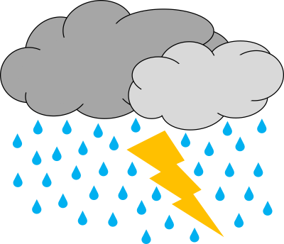 Clipart Thunderstorm Png PNG Images