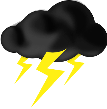 Lightning Thunderstorm Png Transparent Images