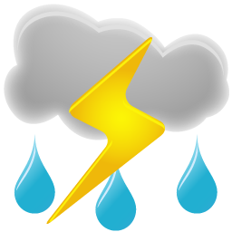 Thunderstorms icon Pictures PNG Images