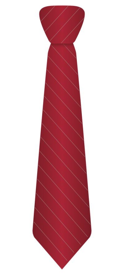 Red Stripes Tie Transparent Background PNG Images