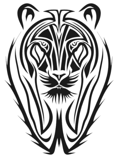 Tribal Tiger Tattoos Old Png