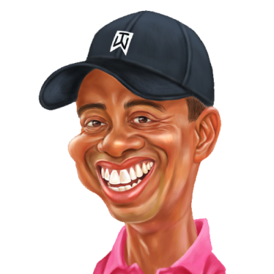 Tiger Woods Clipart Transparent