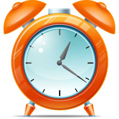 Alarm Clock, Large Time Icons Png