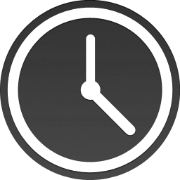 Sidebar Time Clock Minium Icon Png PNG Images