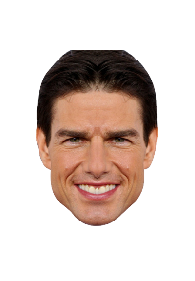 Tom Cruise Face Clipart PNG File
