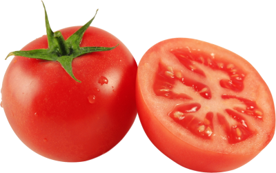 Tomato With Slice PNG Images