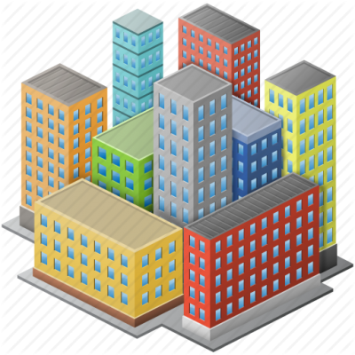 Town City Center Picture PNG Images