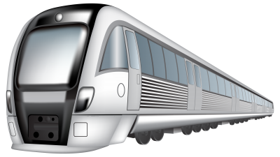 Train Transparent Background PNG Images