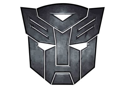 Transformers Logo Black Transparent Background