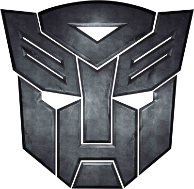 Black Transformers Logo Transparent PNG Images