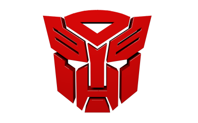 Transformers Red Head Logo PNG Images