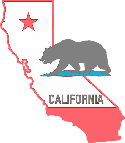 California Map Png Transparent