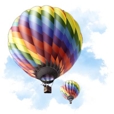 Travel Balloon Transparent Picture PNG Images