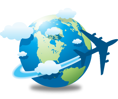 Travel World Transparent Logo PNG Images