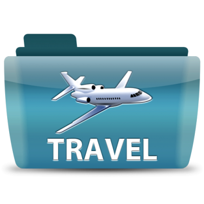 Travel Airplaen Folder Png PNG Images