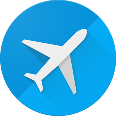 Travel, Airplane Icon Free Cut Out