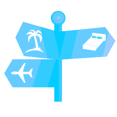 Travel Sign Icon Clipart