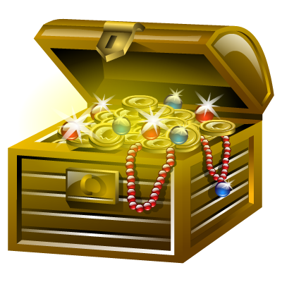 Gold, Treasure Icon Png PNG Images