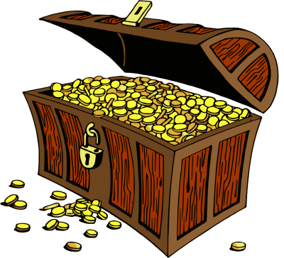 Old Treasure Chest Gold Pictures PNG Images