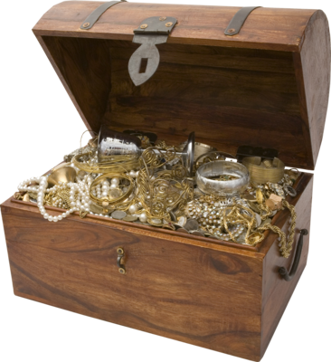 Old Treasure Chest Pictures PNG Images