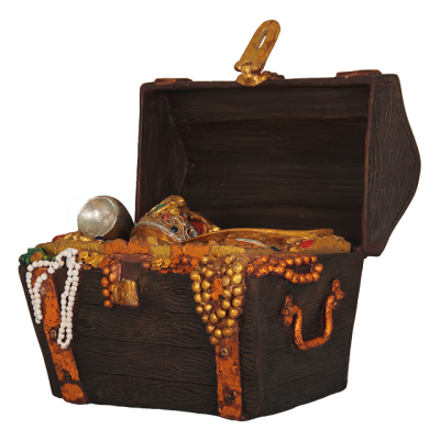 Pirate Treasure Chest Small Picture PNG Images