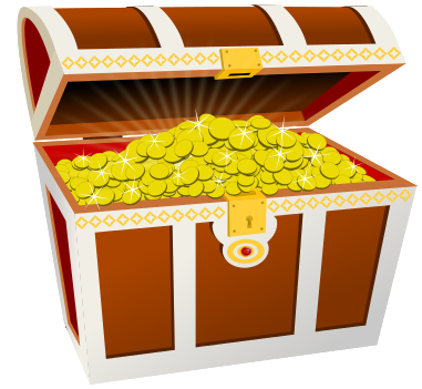 Treasure Chest Coins Pictures PNG Images