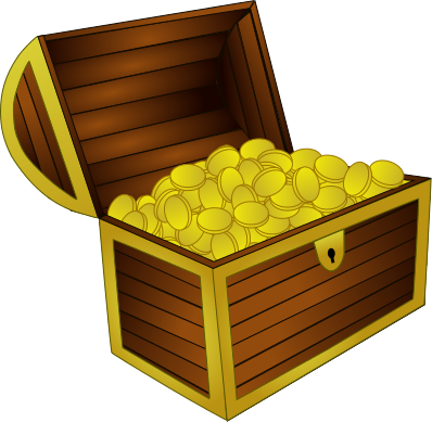 Treasure Chest Wooden Png PNG Images