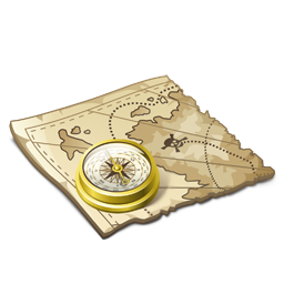 Treasure Map Pirates Icons Png PNG Images