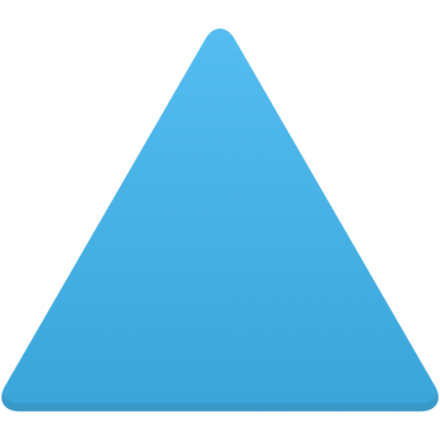 Triangle Flatastic Cut Out PNG Images