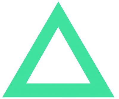 Green Triangle Transparent Background