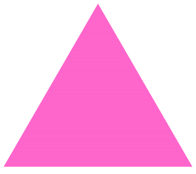 Triangle Photos Pink PNG Images