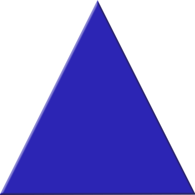 Triangle Blue Image PNG Images