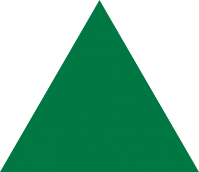 Green Triangle PNG Images
