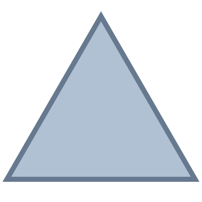 Triangle Blue PNG Images