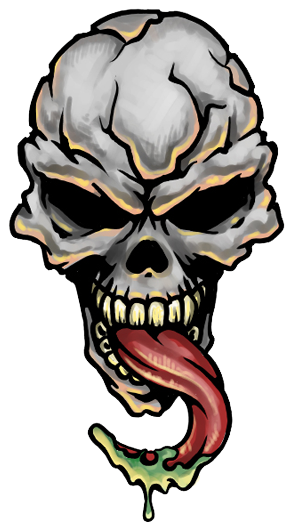 Skull Tattoo Png Transparent Image   PNG Images