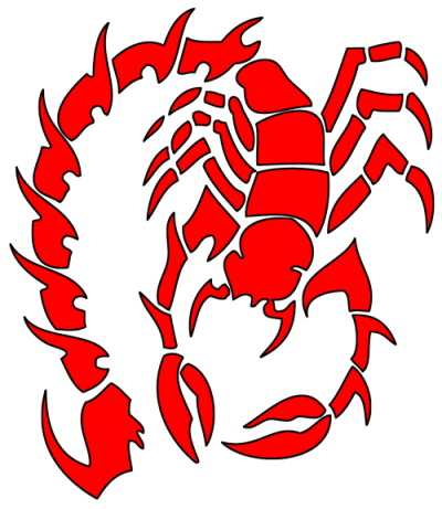 Tribal Scorpion Tattoos Png Pictures