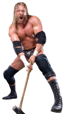 Triple H Cut Out Png PNG Images