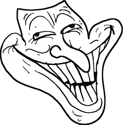Big Mouthed Trollface images Free Download PNG Images
