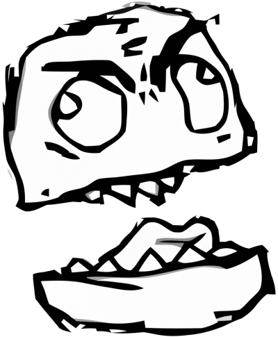 Terrible Troll Face Clipart Hd icon Transparent PNG Images