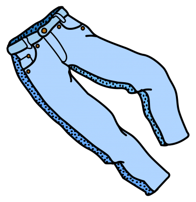 Jeans, Trousers Clipart PNG Images