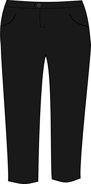 Trousers Black Clip Art At Png PNG Images