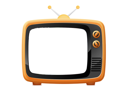 Tv Icon Clipart PNG Images
