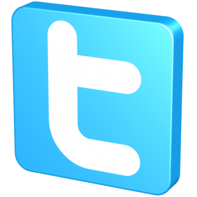 Blue Twitter Icon Casual Png