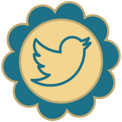 Twitter Retro Social Media Icons Png