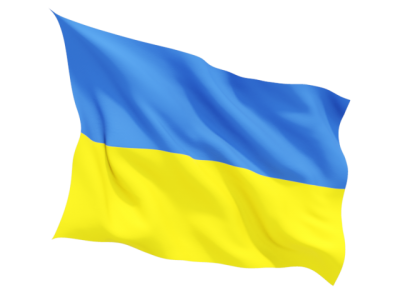 Real Ukraine Flag PNG Images