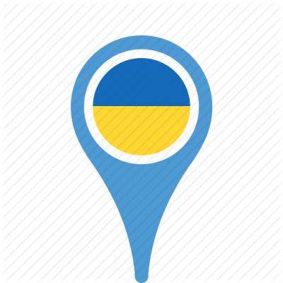 Ukraine Pin Flag Free PNG PNG Images