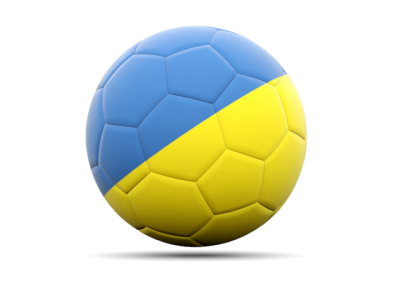 Ukraine, Football, Flag, Symbol, Country