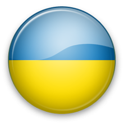 Sunrise Ukraine Flag Circle Symbol